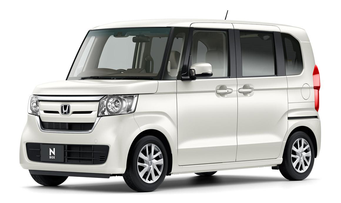 新型N-BOXプレミアムホワイト・パールⅡ