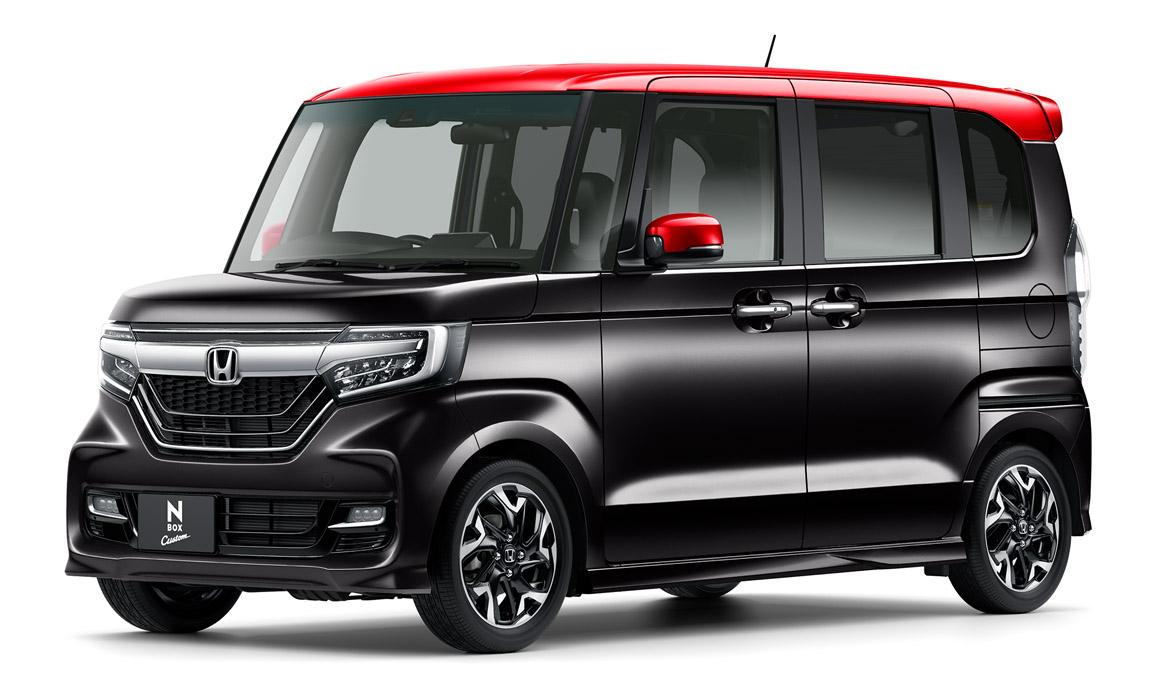 新型N-BOXクリスタルブラック・パール&レッド